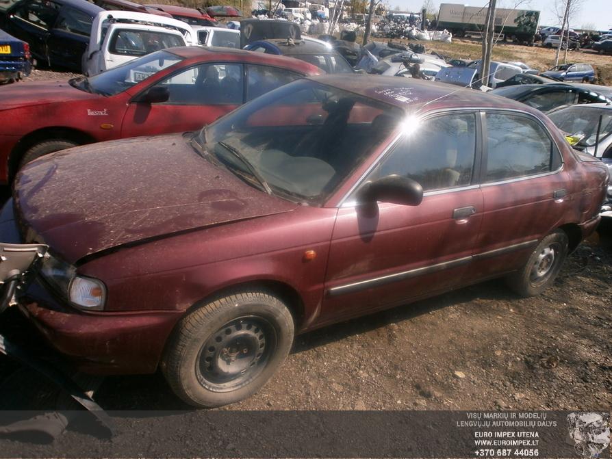 Naudotos automobilio dalys Suzuki BALENO 1995 1.3 Mechaninė Sedanas 4/5 d. Raudona 2014-4-23