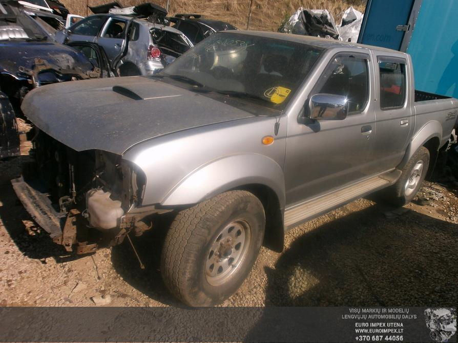 Nissan NAVARA 2002 2.5 Mechaninė