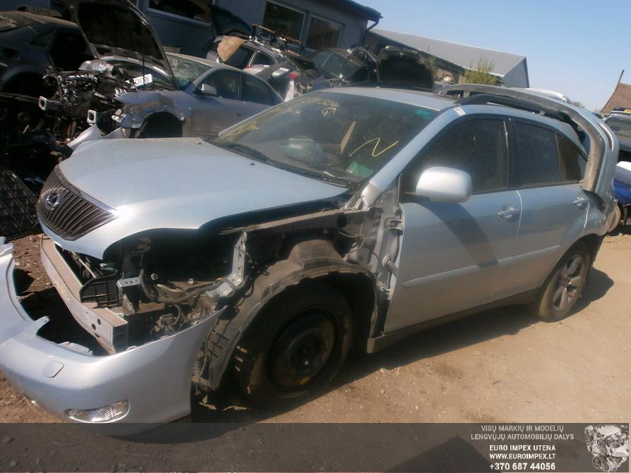 Naudotos automobilio dalys Lexus RX - CLASS 2004 3.0 Automatinė Visureigis 4/5 d. Pilka 2014-4-23