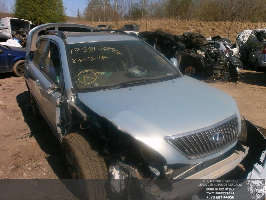 Naudotos automobiliu dallys Foto 3 Lexus RX - CLASS 2004 3.0 Automatinė Visureigis 4/5 d. Pilka 2014-4-23 A1522