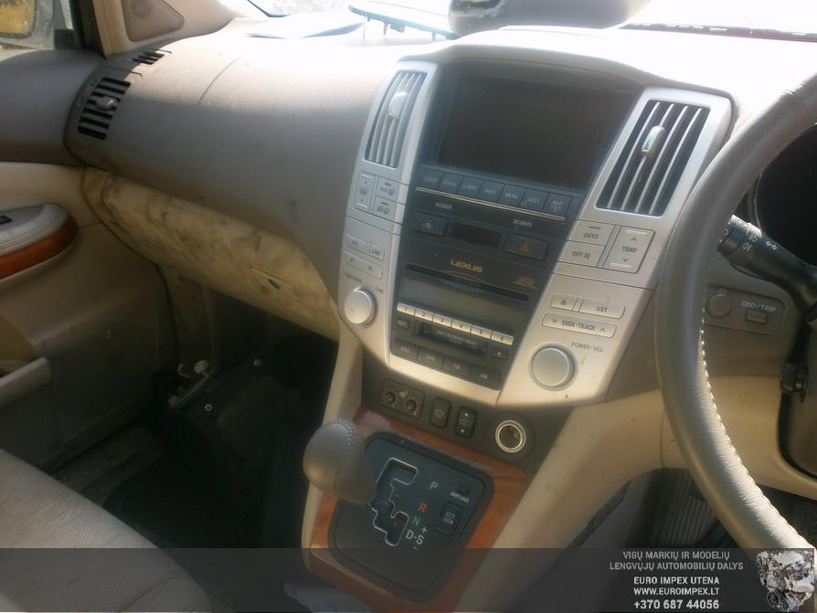 Naudotos automobiliu dallys Foto 5 Lexus RX - CLASS 2004 3.0 Automatinė Visureigis 4/5 d. Pilka 2014-4-23 A1522