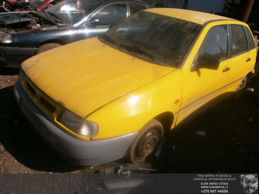 Naudotos automobilio dalys Seat IBIZA 1999 1.9 Mechaninė Hačbekas 4/5 d. Geltona 2014-4-30