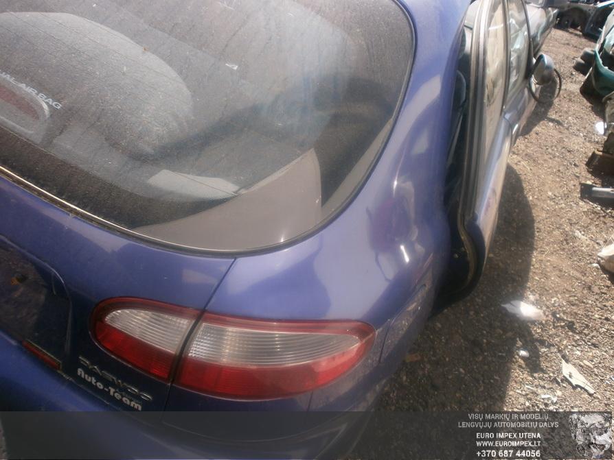 Naudotos automobilio dalys Daewoo LANOS 1998 1.5 Mechaninė Hačbekas 4/5 d. Melyna 2014-4-30