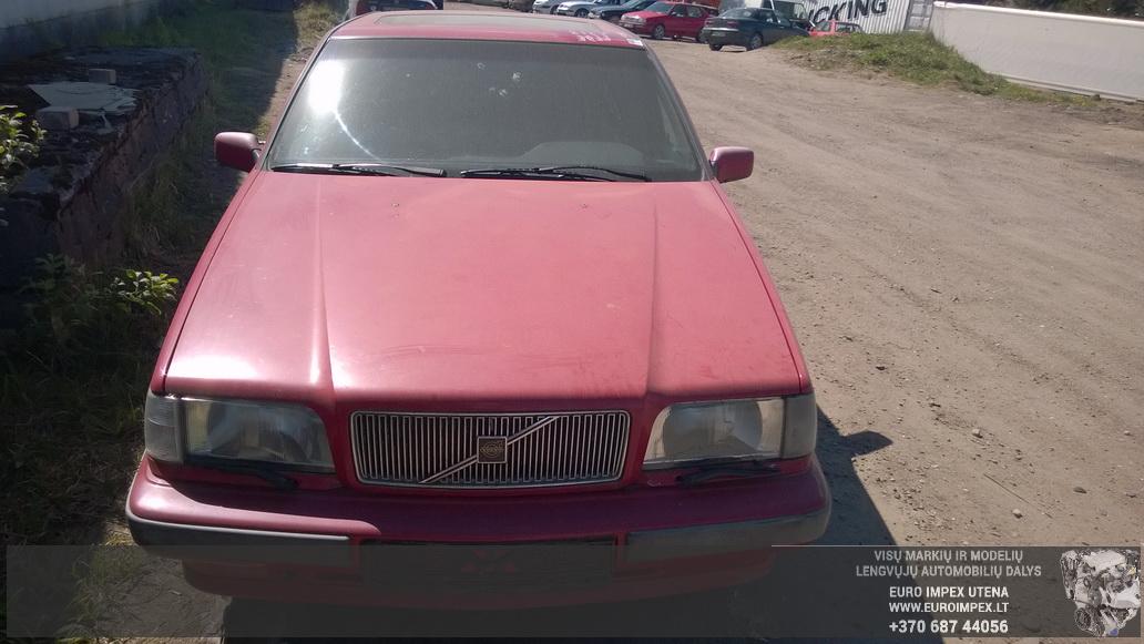 Naudotos automobilio dalys Volvo 850 1992 2.4 Mechaninė Sedanas 4/5 d. Raudona 2014-5-03