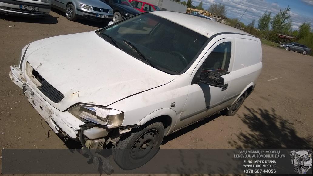 Opel ASTRA 2000 1.7 машиностроение
