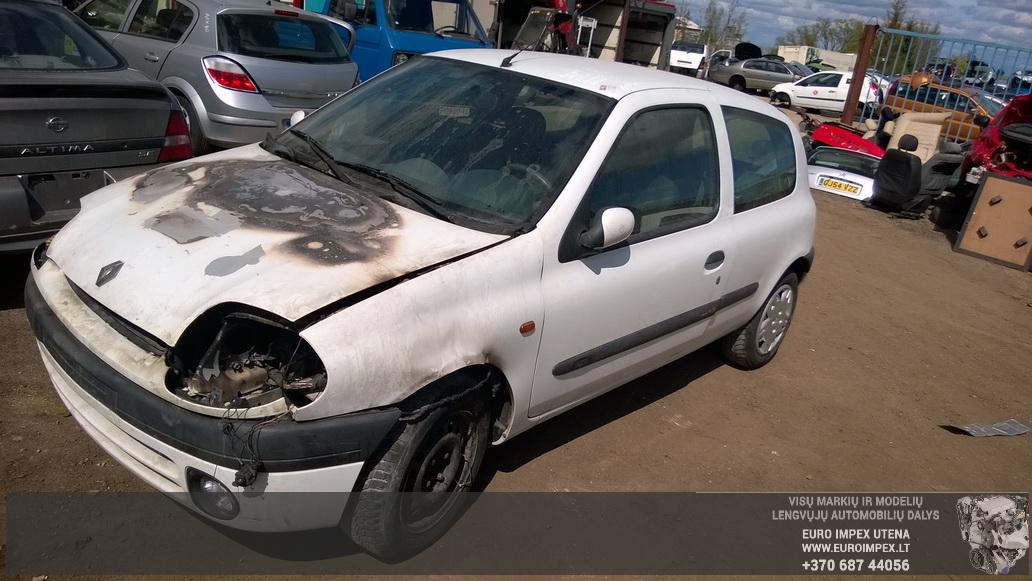 Renault CLIO 1998 1.6 Automatinė