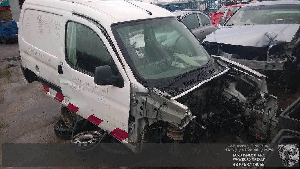 Naudotos automobiliu dallys Foto 1 Peugeot PARTNER 2004 2.0 Mechaninė Komercinis 4/5 d. Balta 2014-4-23 A1518