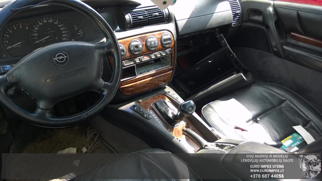 Naudotos automobiliu dallys Foto 4 Opel OMEGA 1999 2.5 Automatinė Sedanas 4/5 d. Žalia 2014-5-14 A1556