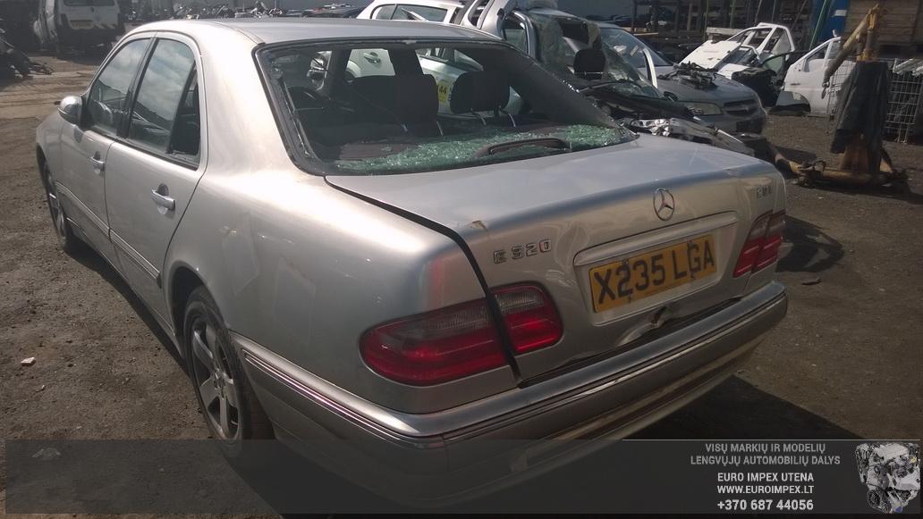 Naudotos automobilio dalys Mercedes-Benz E-CLASS 2000 3.2 Automatinė Sedanas 4/5 d. Pilka 2014-5-22
