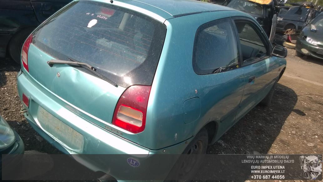 Naudotos automobilio dalys Mitsubishi COLT 1995 1.5 Automatinė Hačbekas 2/3 d. Žalia 2014-5-26