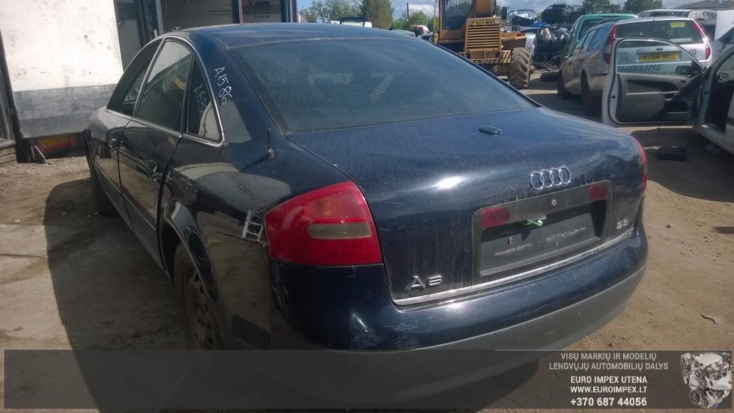 Naudotos automobilio dalys Audi A6 1998 2.8 Automatinė Sedanas 4/5 d. Melyna 2014-5-31