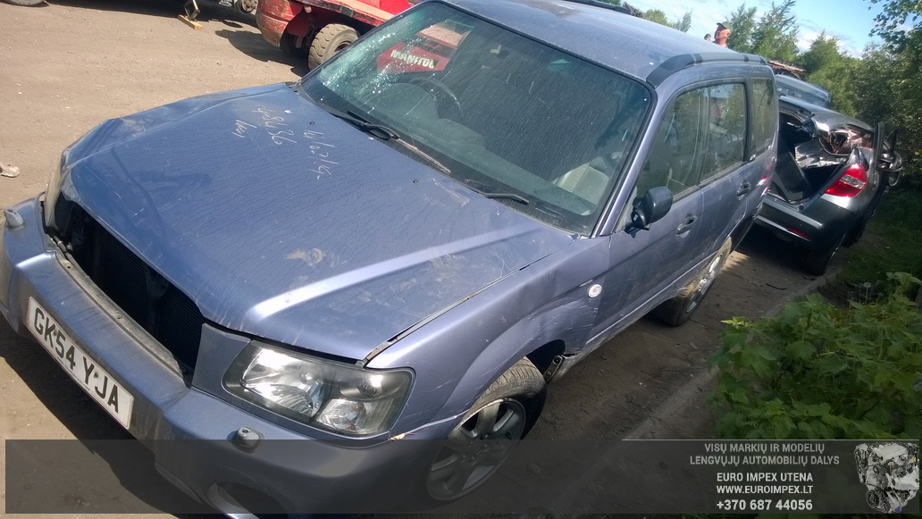 Naudotos automobiliu dallys Foto 3 Subaru FORESTER 2004 2.0 Mechaninė Visureigis 4/5 d. Pilka 2014-5-31 A1587