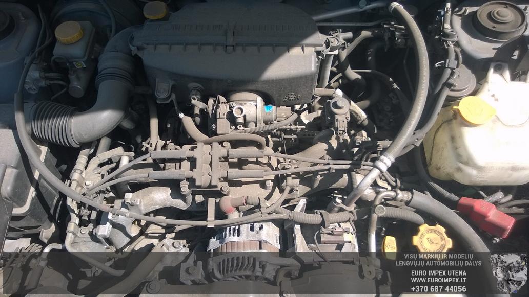 Naudotos automobiliu dallys Foto 8 Subaru FORESTER 2004 2.0 Mechaninė Visureigis 4/5 d. Pilka 2014-5-31 A1587