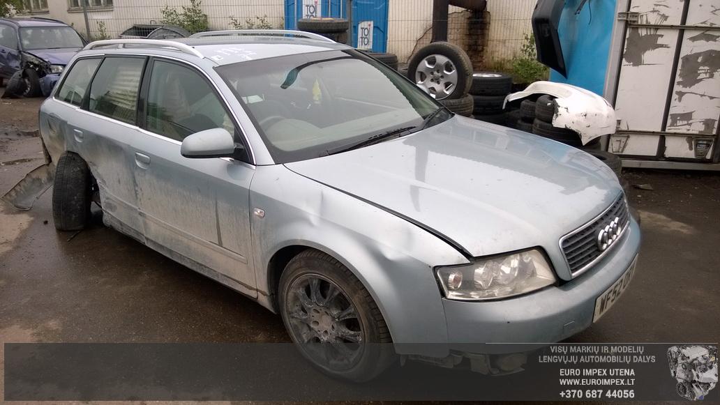 Naudotos automobiliu dallys Foto 1 Audi A4 2003 1.9 Mechaninė Universalas 4/5 d. Žydra 2014-6-02 A1588