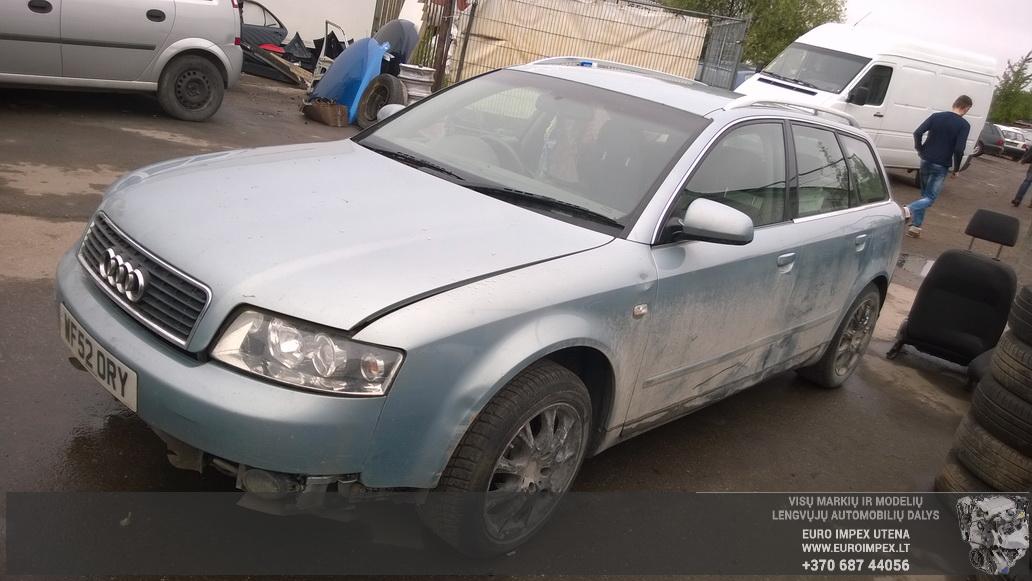 Naudotos automobiliu dallys Foto 4 Audi A4 2003 1.9 Mechaninė Universalas 4/5 d. Žydra 2014-6-02 A1588