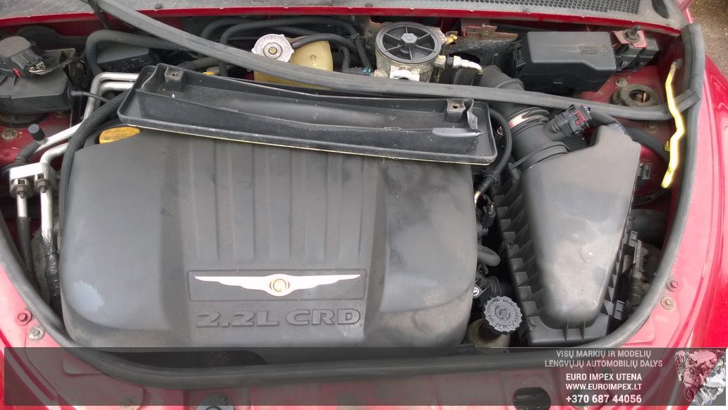 Naudotos automobiliu dallys Foto 8 Chrysler PT CRUISER 2005 2.2 Mechaninė Hačbekas 4/5 d. Raudona 2014-6-02 A1590