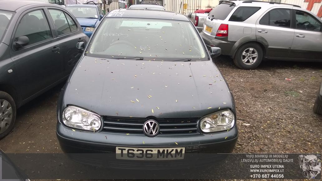Naudotos automobiliu dallys Foto 2 Volkswagen GOLF 1999 1.6 Mechaninė Hačbekas 4/5 d. Pilka 2014-6-02 A1592