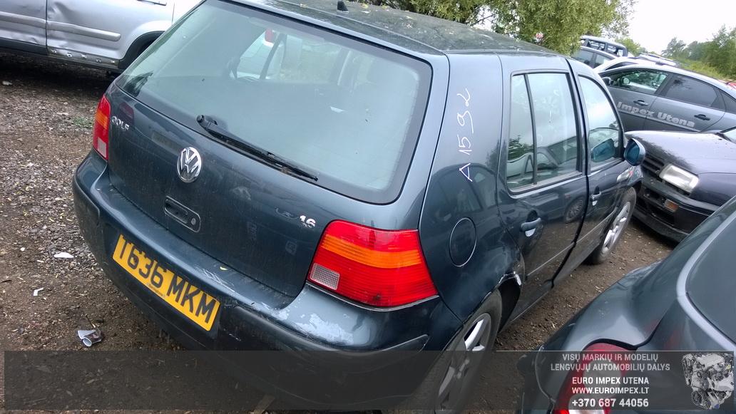 Naudotos automobiliu dallys Foto 6 Volkswagen GOLF 1999 1.6 Mechaninė Hačbekas 4/5 d. Pilka 2014-6-02 A1592