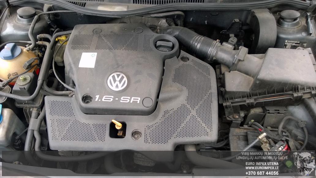 Naudotos automobiliu dallys Foto 7 Volkswagen GOLF 1999 1.6 Mechaninė Hačbekas 4/5 d. Pilka 2014-6-02 A1592