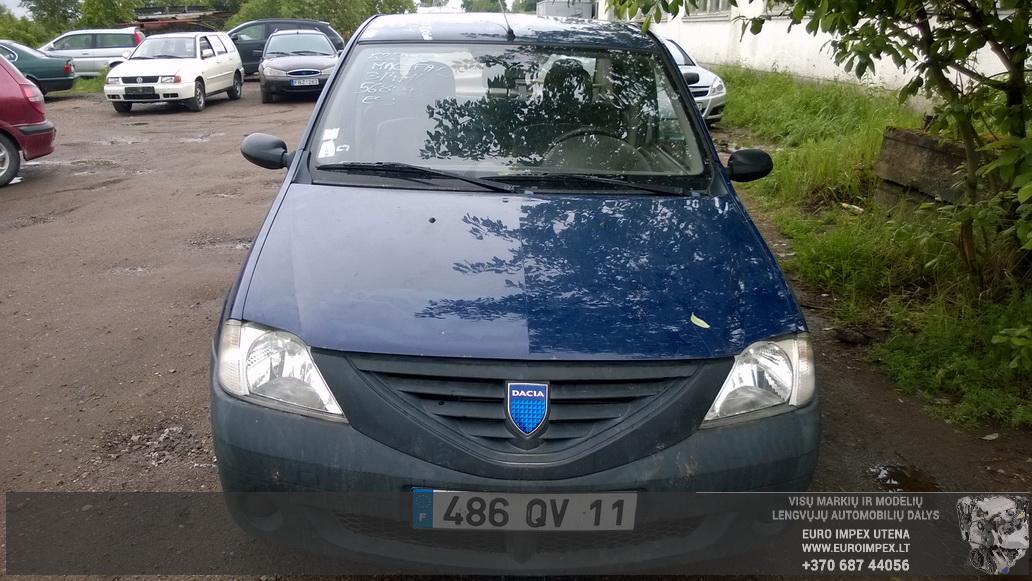 Naudotos automobiliu dallys Foto 2 Dacia LOGAN 2005 1.4 Mechaninė Sedanas 4/5 d. Melyna 2014-6-02 A1593
