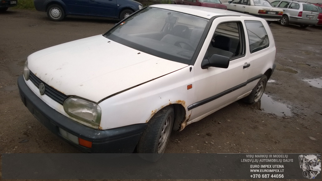 Volkswagen GOLF 1991 1.4 Mechaninė