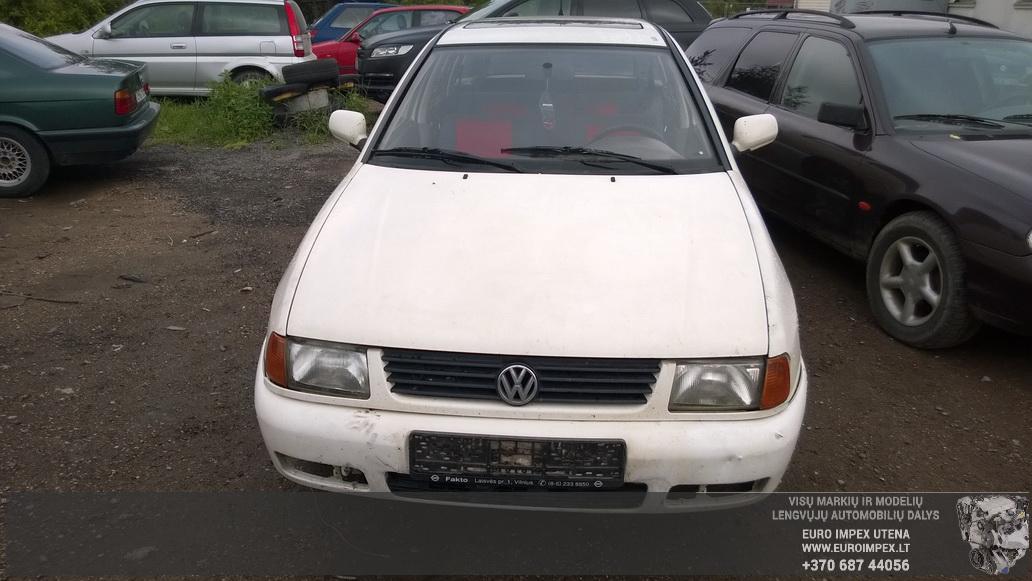 Naudotos automobiliu dallys Foto 3 Volkswagen POLO 1998 1.4 Mechaninė Universalas 4/5 d. Balta 2014-6-02 A1595