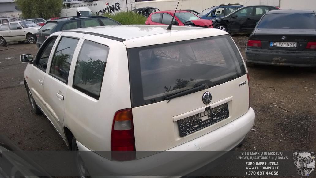 Naudotos automobiliu dallys Foto 7 Volkswagen POLO 1998 1.4 Mechaninė Universalas 4/5 d. Balta 2014-6-02 A1595