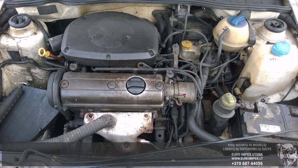 Naudotos automobiliu dallys Foto 8 Volkswagen POLO 1998 1.4 Mechaninė Universalas 4/5 d. Balta 2014-6-02 A1595
