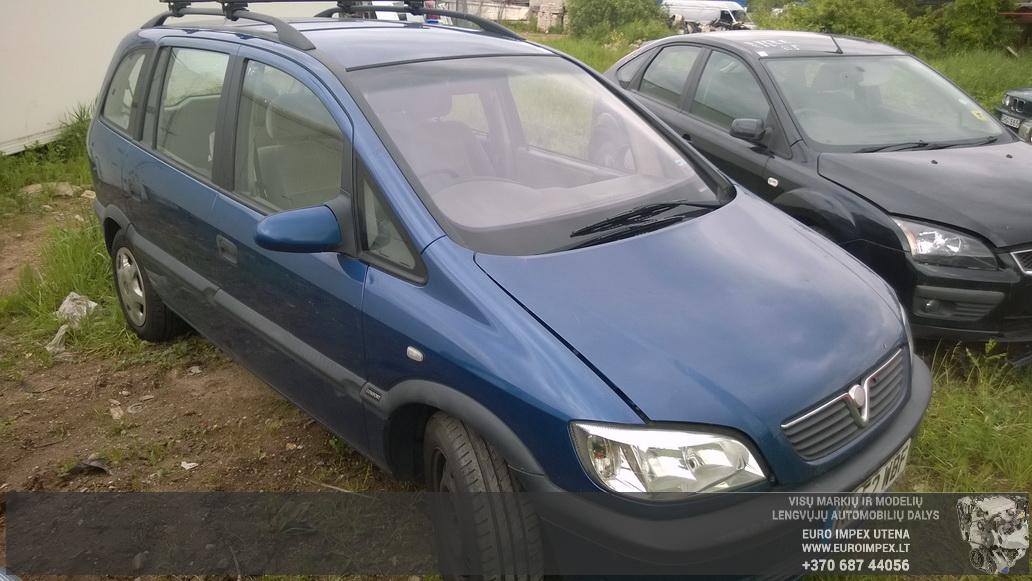 Opel ZAFIRA 2002 2.0 Mechanical