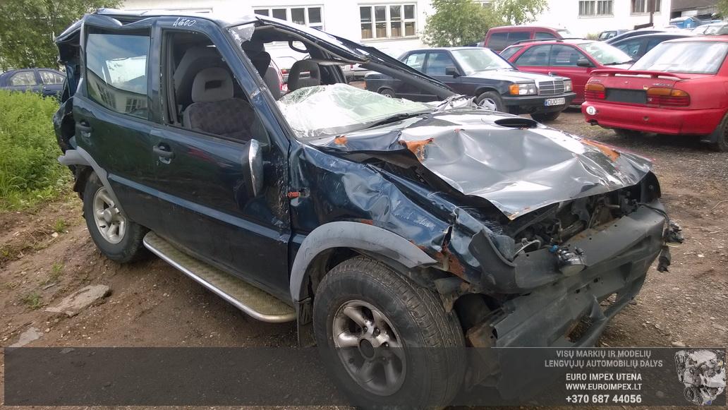 Naudotos automobilio dalys Ford MAVERIC 1997 2.7 Mechaninė Visureigis 4/5 d. Juoda 2014-6-02