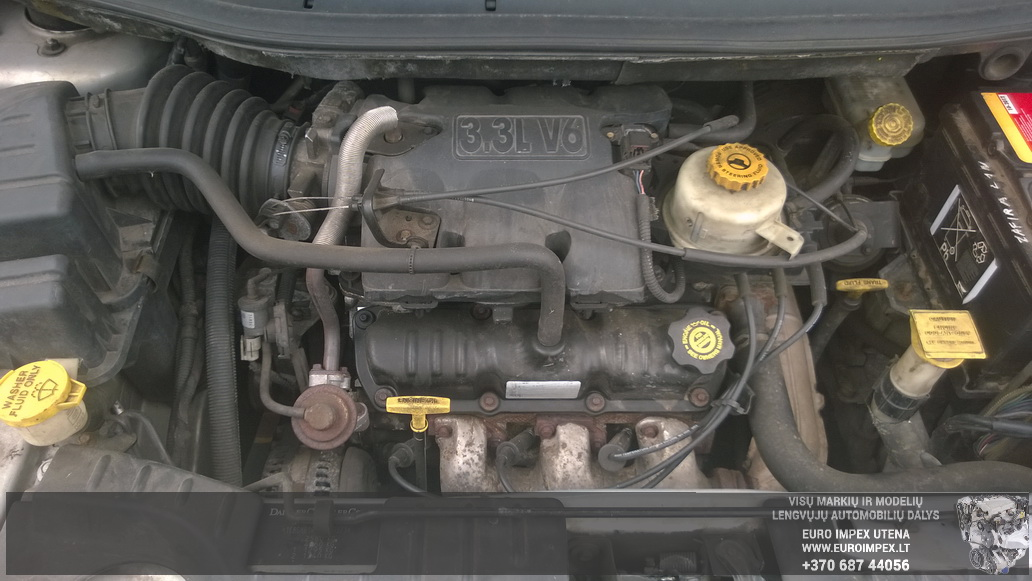 Naudotos automobiliu dallys Foto 8 Chrysler GRAND VOYAGER 2001 3.3 Automatinė Vienatūris 4/5 d. Pilka 2014-6-05 A1601