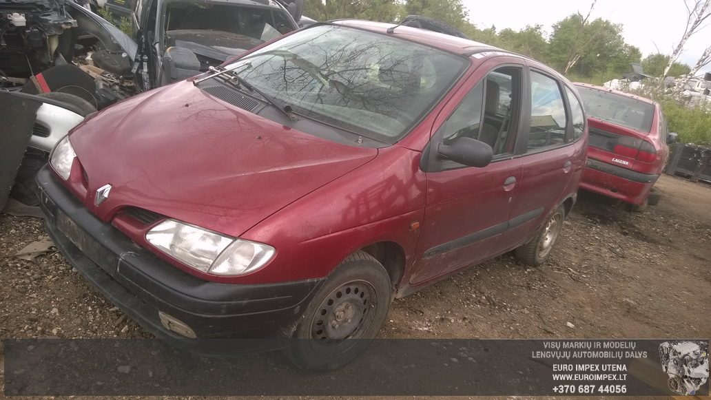 Renault MEGANE SCENIC 1997 1.6 Mechanical