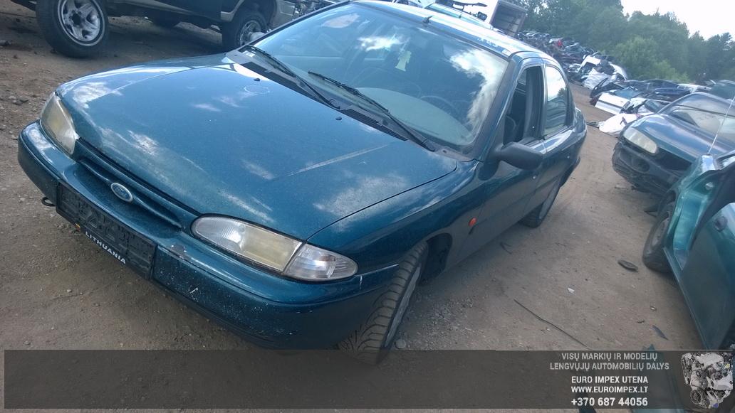 Naudotos automobiliu dallys Foto 3 Ford MONDEO 1993 1.6 Mechaninė Sedanas 4/5 d. Žalia 2014-6-06 A1609