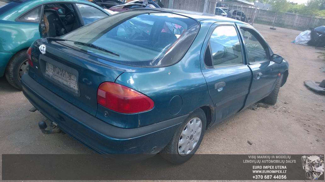 Naudotos automobiliu dallys Foto 7 Ford MONDEO 1993 1.6 Mechaninė Sedanas 4/5 d. Žalia 2014-6-06 A1609