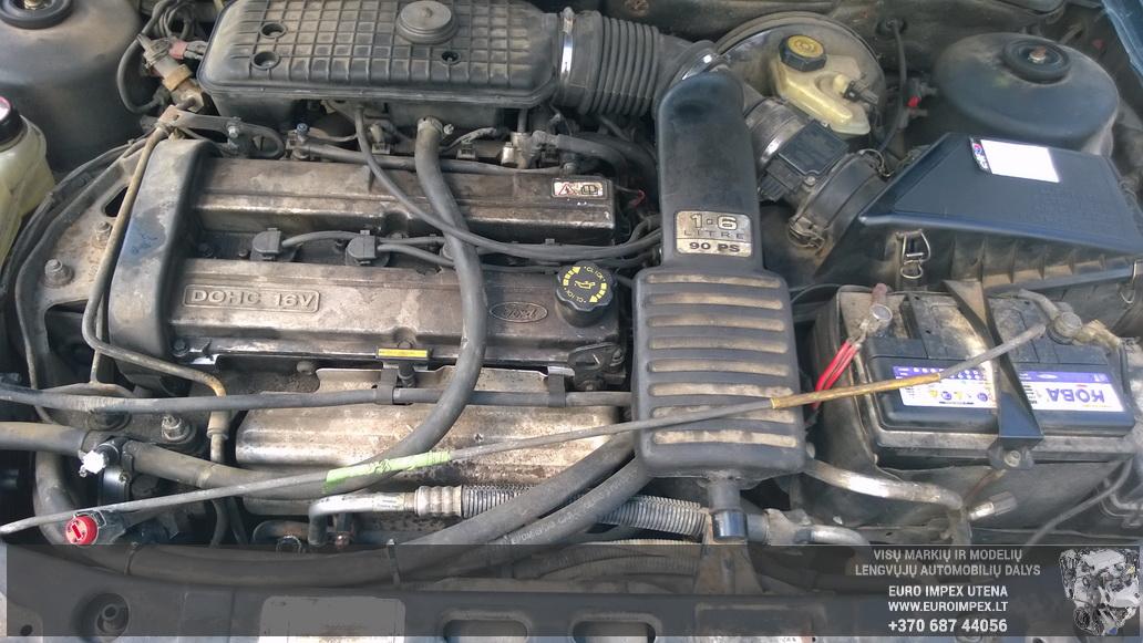 Naudotos automobiliu dallys Foto 8 Ford MONDEO 1993 1.6 Mechaninė Sedanas 4/5 d. Žalia 2014-6-06 A1609