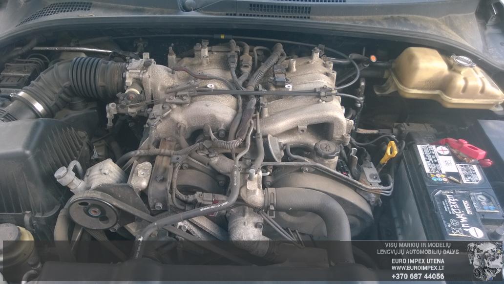 Naudotos automobiliu dallys Foto 8 Kia SORENTO 2005 3.5 Automatinė Visureigis 4/5 d. Pilka 2014-6-10 A1620