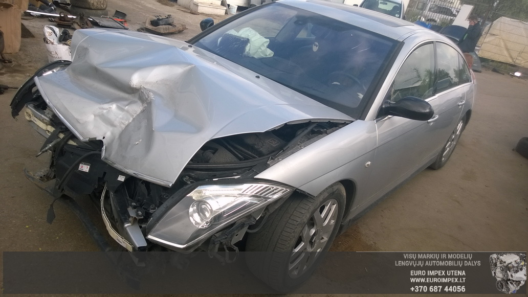 Naudotos automobilio dalys Citroen C6 2006 2.7 Automatinė Sedanas 4/5 d. Pilka 2014-6-11