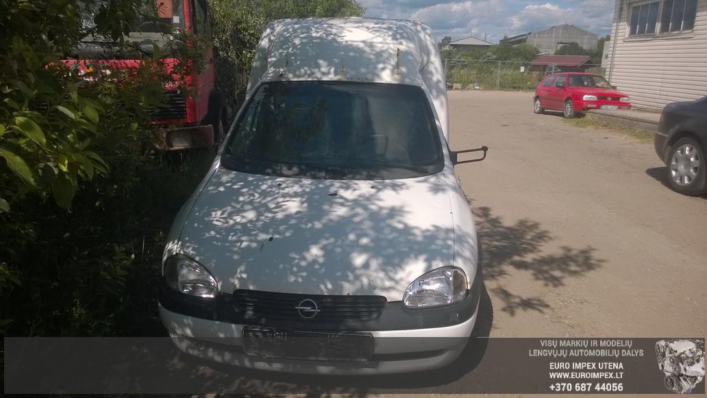 Naudotos automobiliu dallys Foto 2 Opel COMBO 1999 1.7 Mechaninė Komercinis 2/3 d. Balta 2014-6-16 A1625