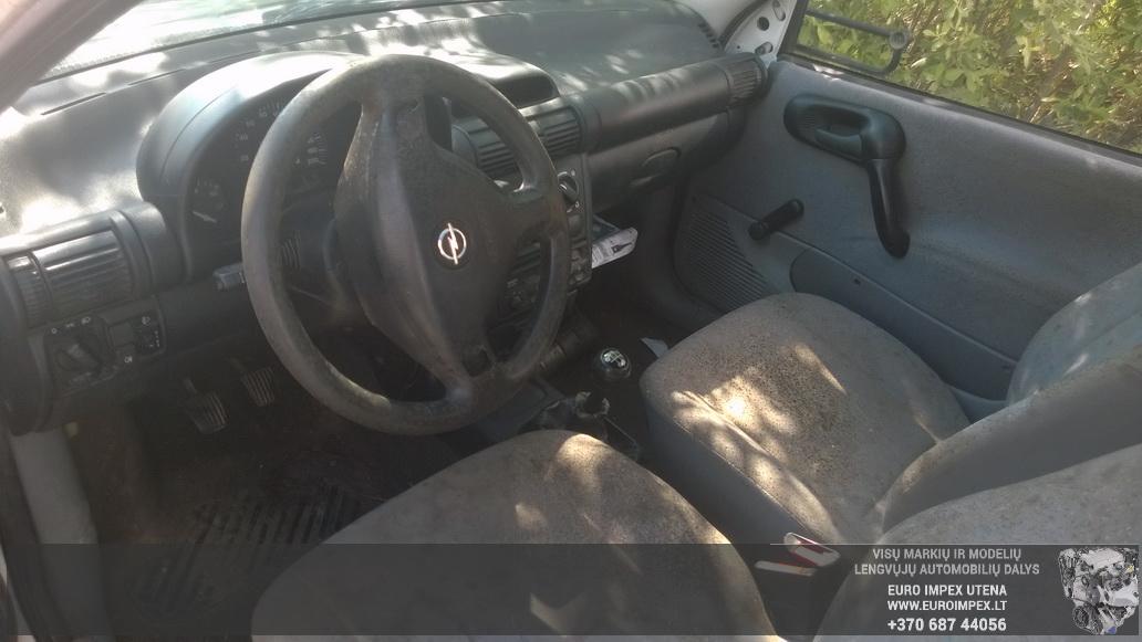Naudotos automobiliu dallys Foto 4 Opel COMBO 1999 1.7 Mechaninė Komercinis 2/3 d. Balta 2014-6-16 A1625
