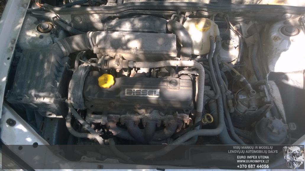Naudotos automobiliu dallys Foto 8 Opel COMBO 1999 1.7 Mechaninė Komercinis 2/3 d. Balta 2014-6-16 A1625