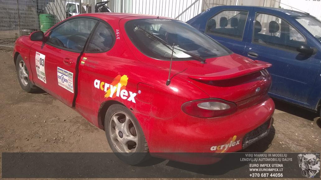 Naudotos automobilio dalys Hyundai COUPE 1996 2.0 Mechaninė Kupė 2/3 d. Raudona 2014-6-17