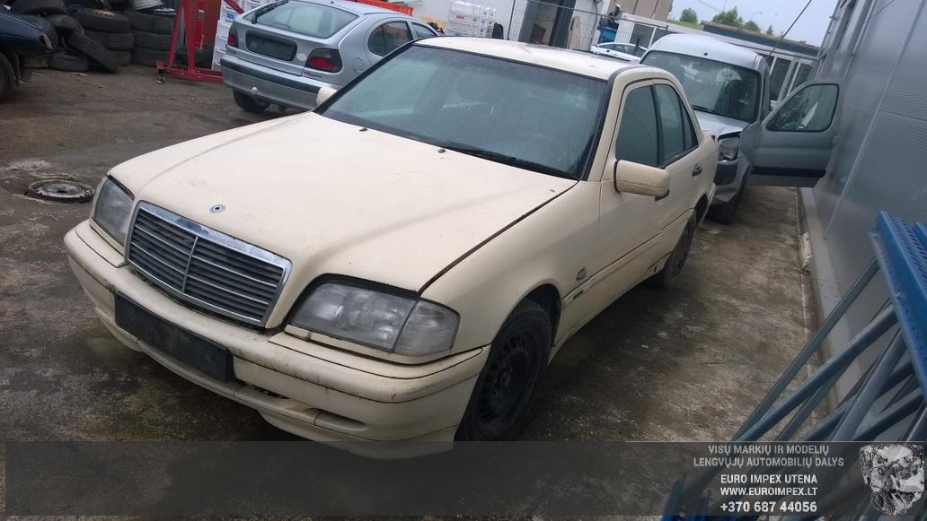 Mercedes-Benz C-CLASS 1997 2.2 машиностроение