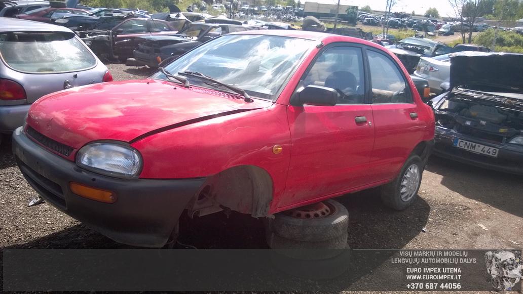 Mazda 121 1995 1.3 Mechaninė