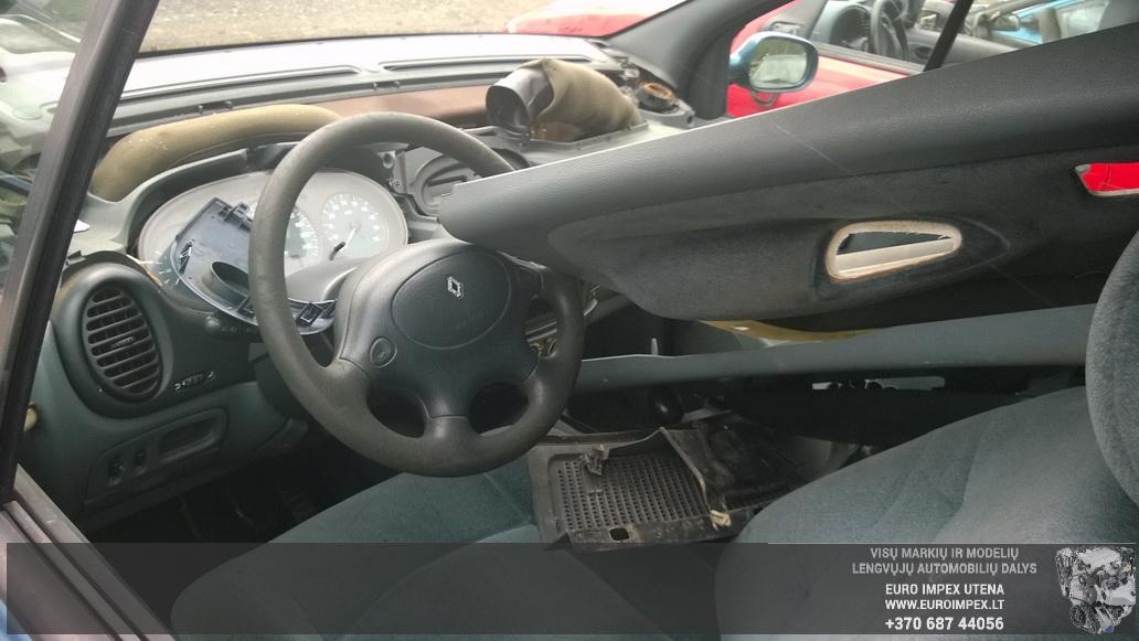Naudotos automobiliu dallys Foto 7 Renault MEGANE SCENIC 1997 1.9 Mechaninė Vienatūris 4/5 d. Žalia 2014-7-02 A1649