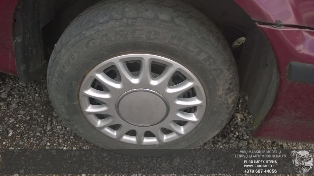Naudotos automobiliu dallys Foto 4 Kia CARNIVAL 2000 2.9 Automatinė Vienatūris 4/5 d. Raudona 2014-7-03 A1651