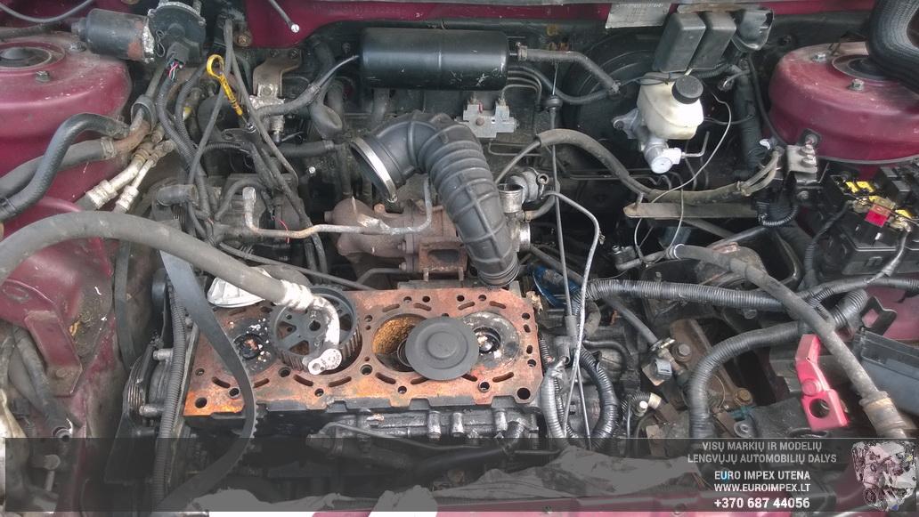 Naudotos automobiliu dallys Foto 8 Kia CARNIVAL 2000 2.9 Automatinė Vienatūris 4/5 d. Raudona 2014-7-03 A1651