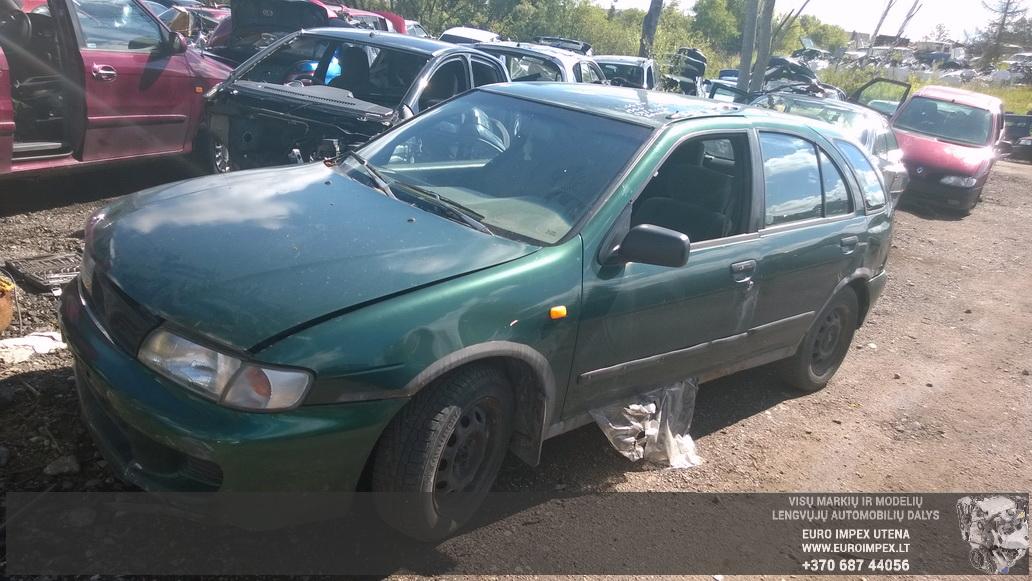 Nissan ALMERA 1996 2.0 машиностроение