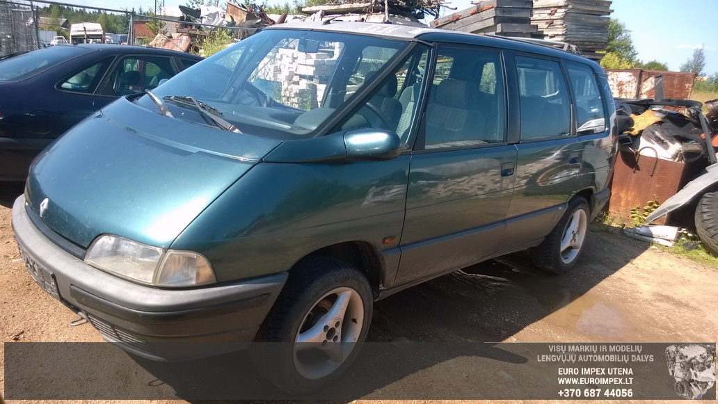 Renault ESPACE 1991 2.2 Mechaninė