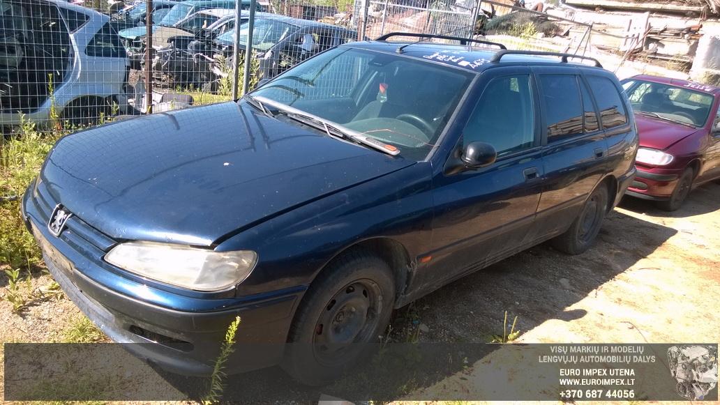 Naudotos automobiliu dallys Foto 1 Peugeot 406 1999 1.9 Mechaninė Universalas 4/5 d. Melyna 2014-7-16 A1679