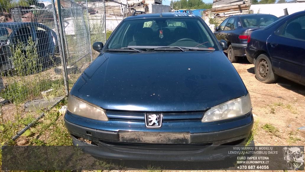 Naudotos automobiliu dallys Foto 2 Peugeot 406 1999 1.9 Mechaninė Universalas 4/5 d. Melyna 2014-7-16 A1679